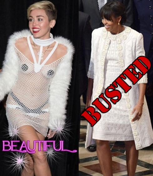BUSTED MILEY MICHELLE