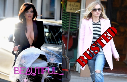 Beautiful or Busted Kim K and Kristin Bell