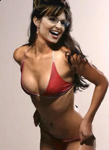 sarah palin bikini